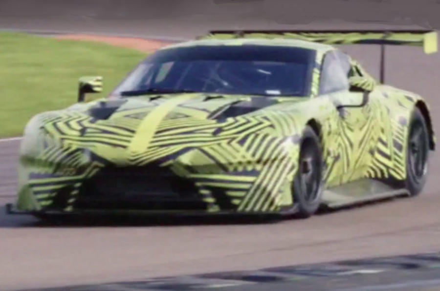 2018 Aston Martin Vantage GTE to mount Le Mans assault