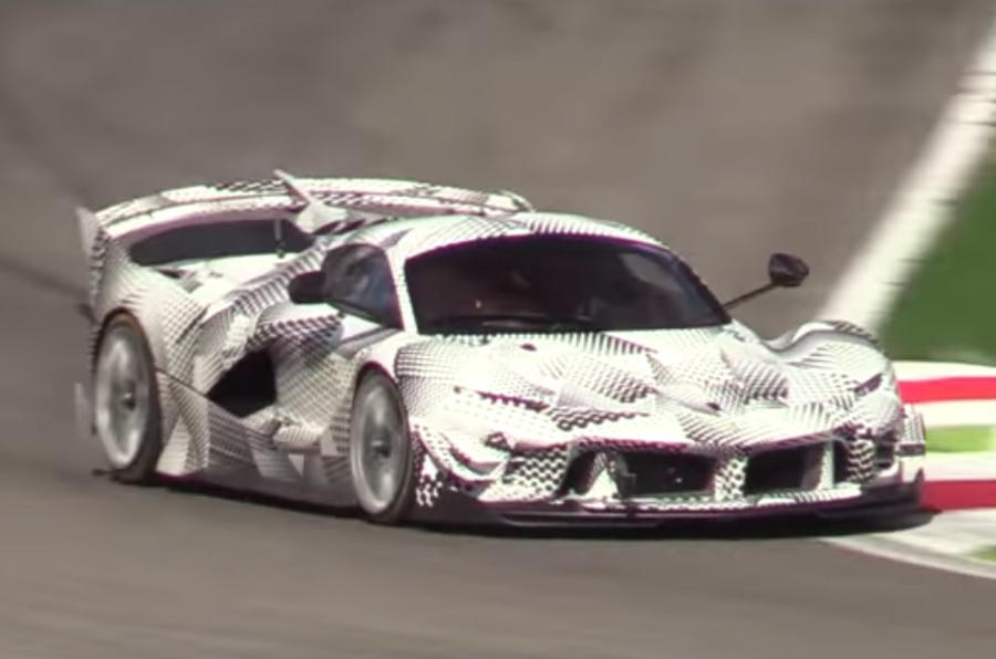 2018 ferrari fxx k. modren ferrari ferrari fxx k evoluzione gets major downforce upgrade and 2018 ferrari fxx k m