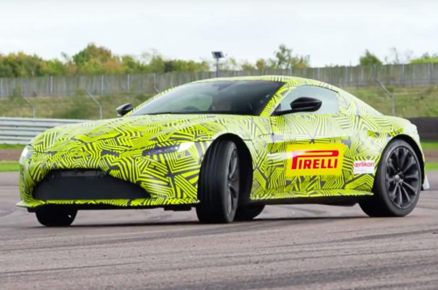 2018 Aston Martin Vantage confirmed with 'more than 500hp'