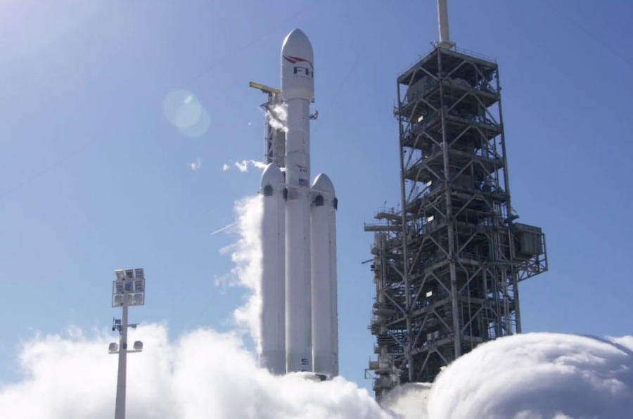 SpaceX Falcon Heavy rocket to launch Tesla Roadster to Mars