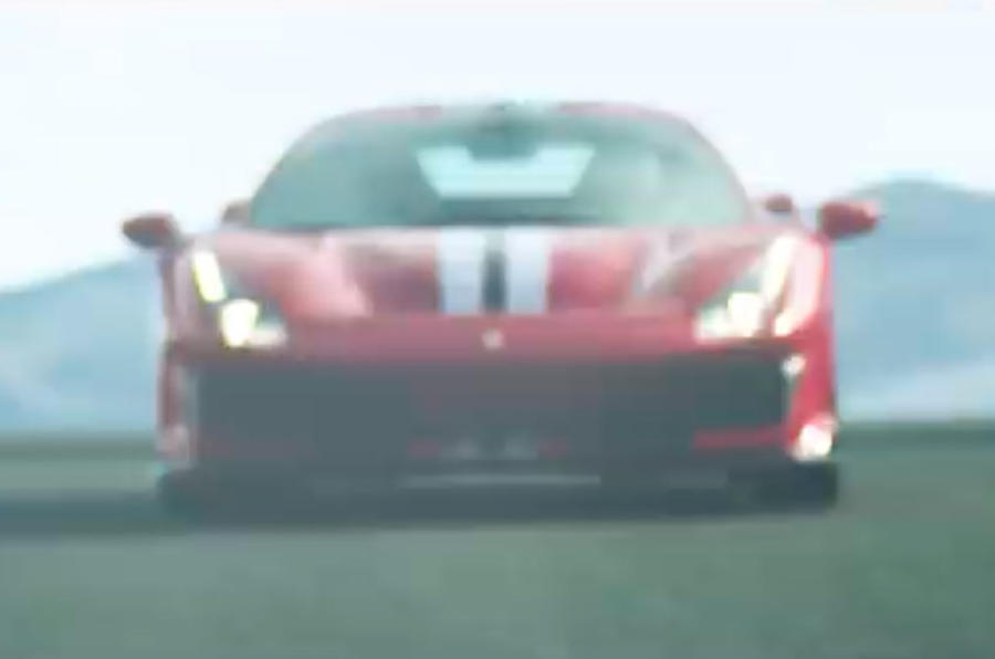 Ferrari 488 GTO: first official video of 700bhp race-honed supercar