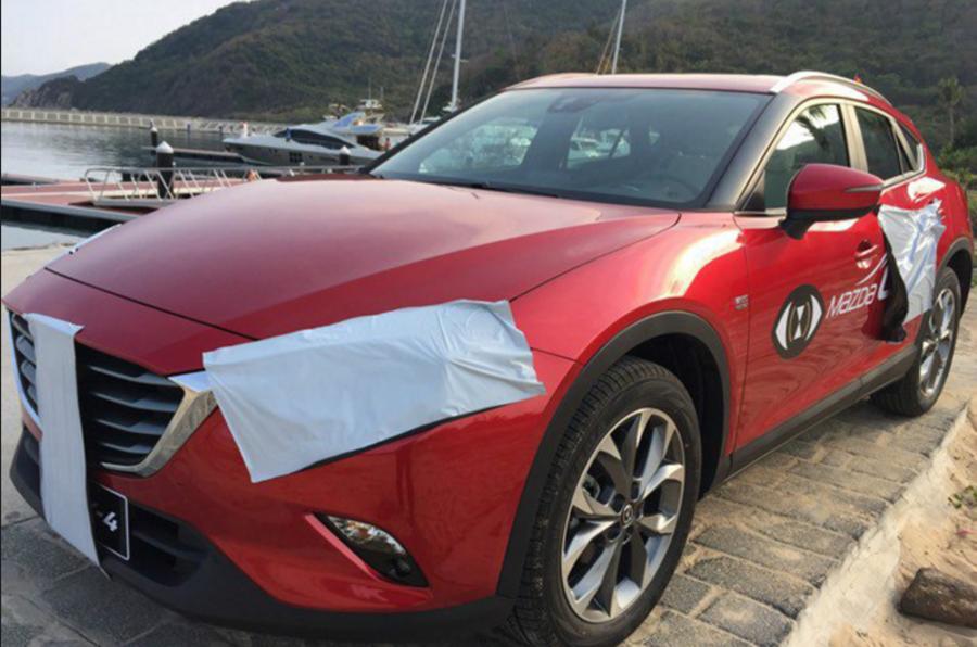 Mazda CX-4 spied
