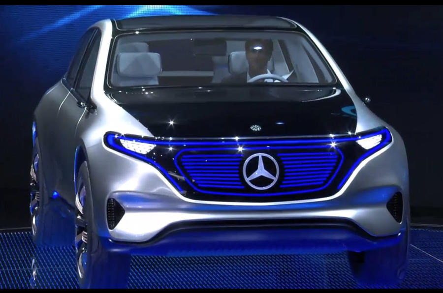 Lithium Ion Car Battery >> Mercedes Generation EQ concept revealed at Paris motor ...