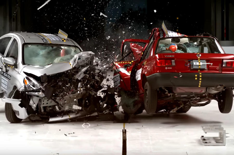 NCAP crash test