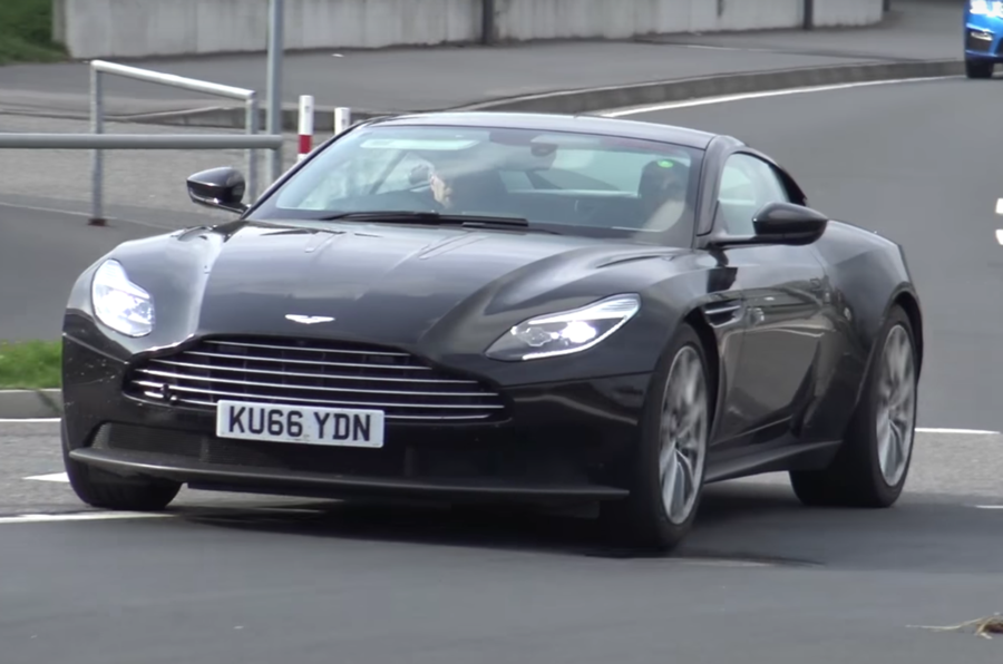 Aston Martin DB11 with 4.0 AMG engine