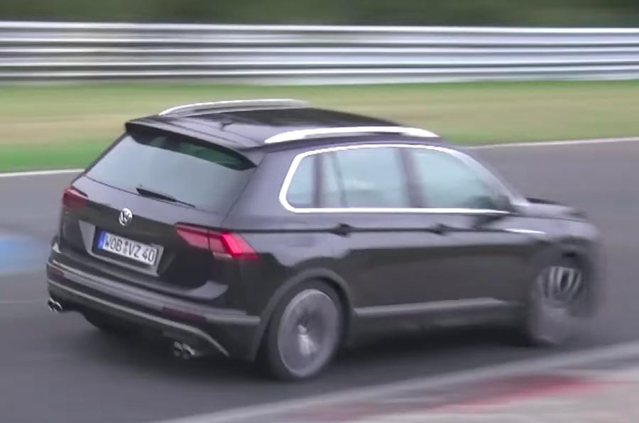 Volkswagen Tiguan R to get Audi-derived five-cylinder engine