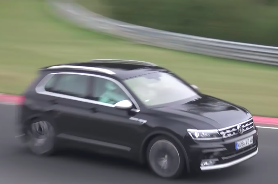 Volkswagen Tiguan R to get Audi-derived five-cylinder engine