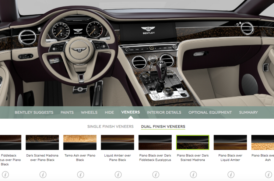 New Bentley Continental GT online configurator launched