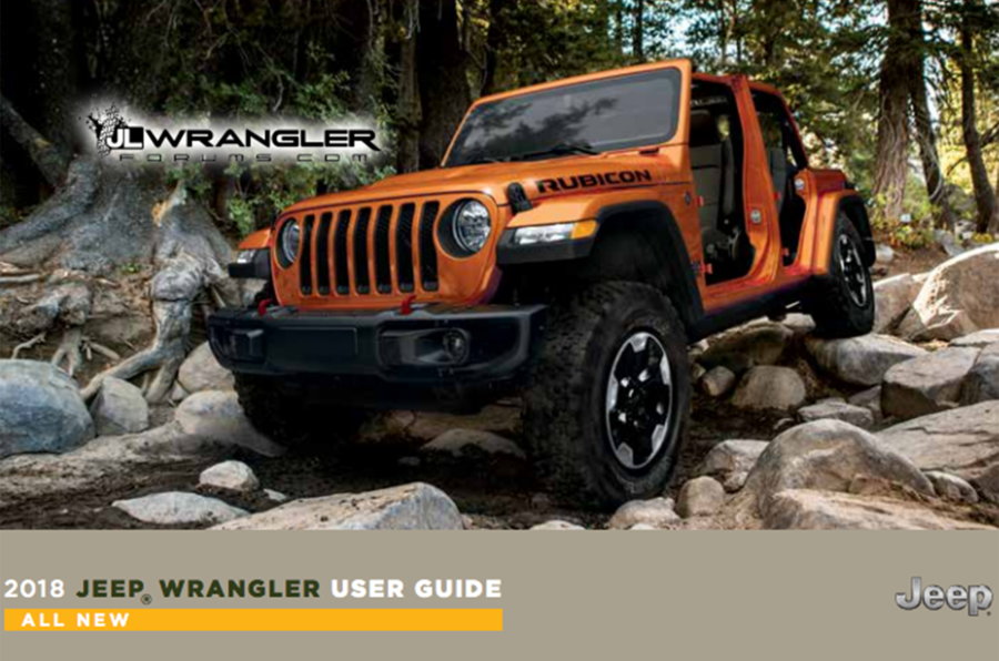 Jeep Wrangler revealed in leaked handbook online