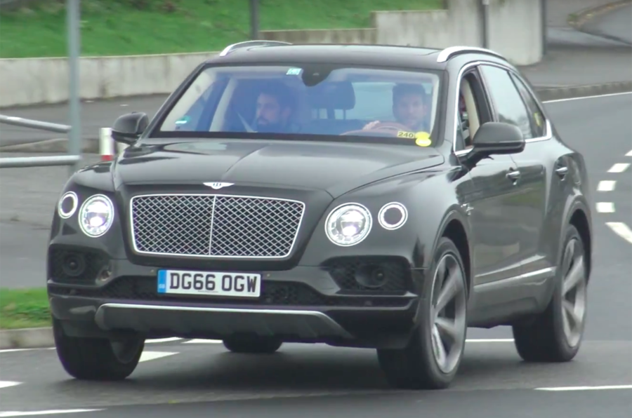 Bentley Bentayga plug-in hybrid due in 2018