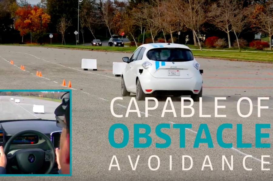 Renault claims world first in autonomous obstacle avoidance capability