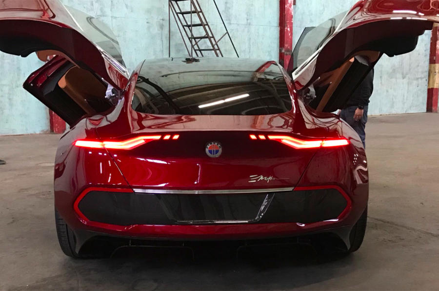 Fisker Emotion EV to be revealed at CES with 'game-changing' batteries
