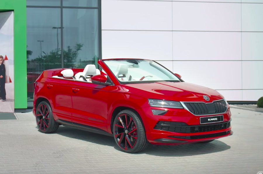 Skoda Sunroq revealed as student-created Karoq roadster