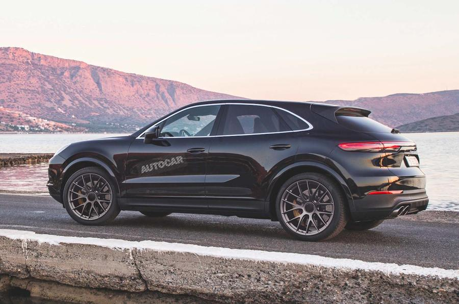 Porsche Cayenne Coup 233 Due In 2019 To Rival Bmw X6 And Audi