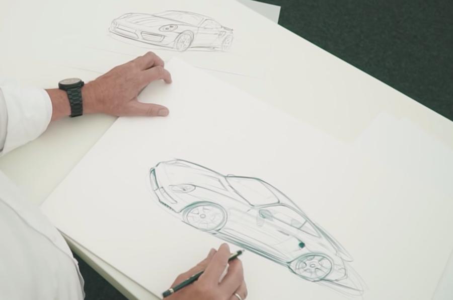 Porsche 'Project Gold' restomod set for Pebble Beach reveal