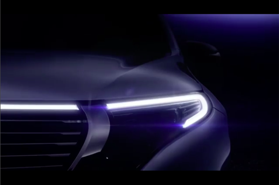 Mercedes-Benz EQC: Tesla Model X rival previewed ahead of Paris reveal