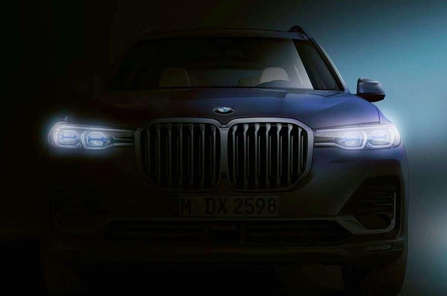 BMW dark image of X7