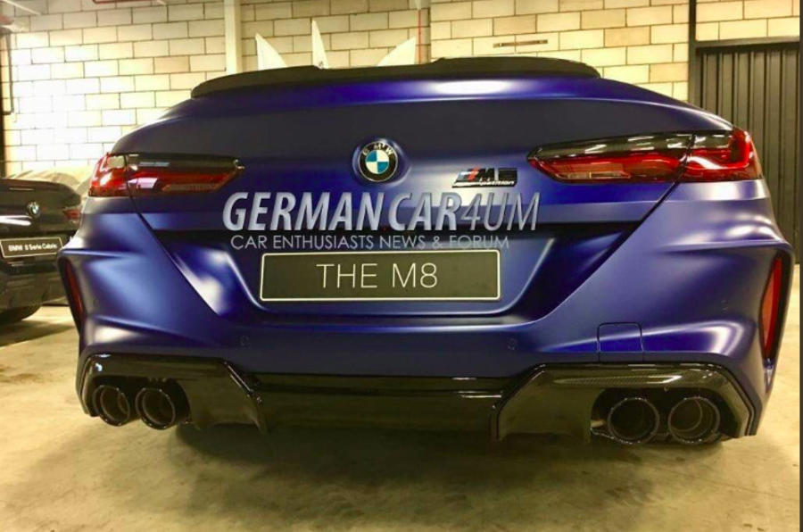 New BMW M8 Competition leaks out ahead of 2019 unveiling