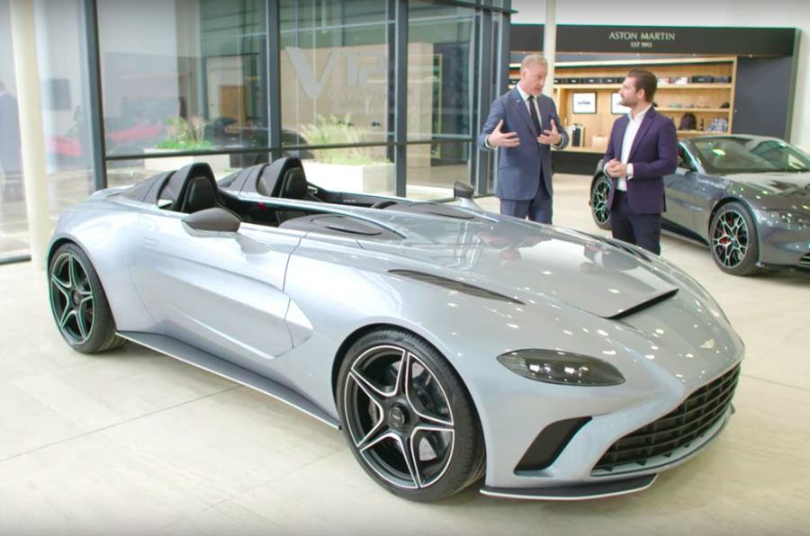 Aston V12 Speedster unveiled