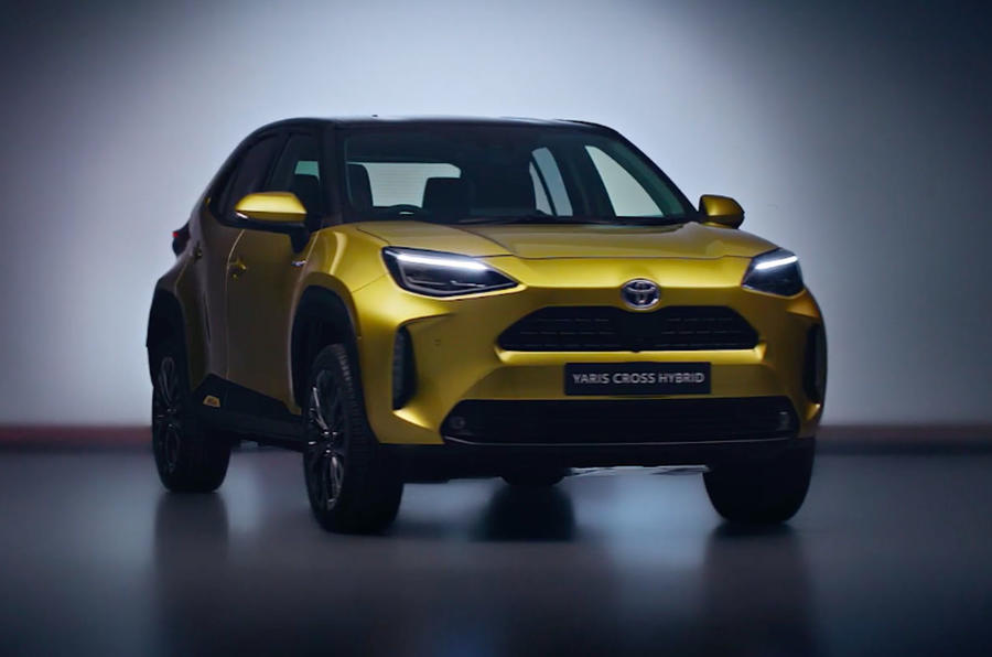 New Toyota Yaris Cross SUV revealed as Nissan Juke rival ...