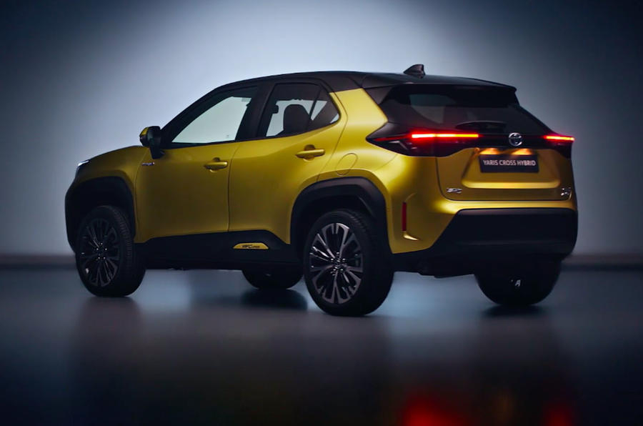 2020 Toyota Yaris Cross unveiling - rear