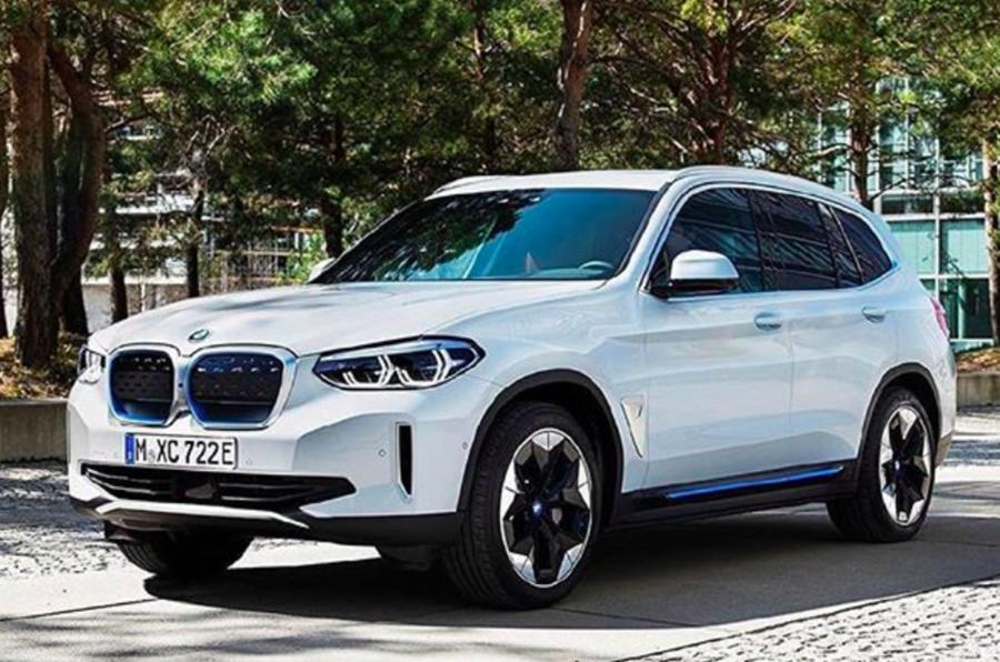 2021 BMW iX3 - leaked image front
