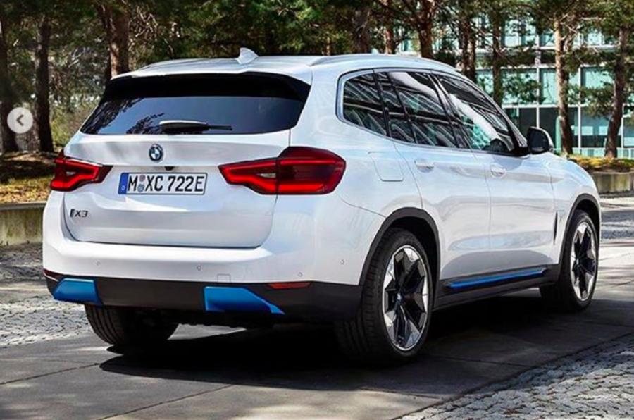 2021 BMW iX3 - leaked image rear