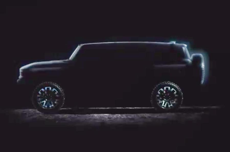 2020 GMC Hummer EV preview