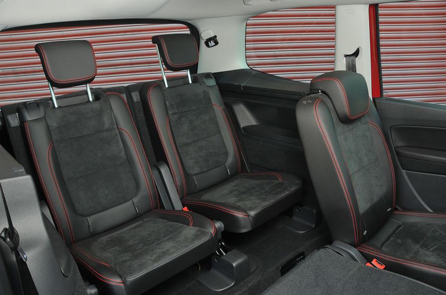Seat Alhambra rear seats