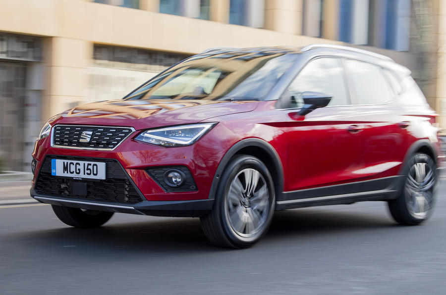 seat arona 1 5 tsi evo fr 2018 review autocar. Black Bedroom Furniture Sets. Home Design Ideas