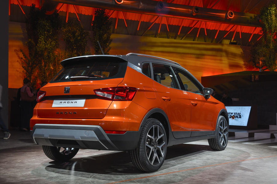 New Seat Arona revealed as Nissan Juke rival