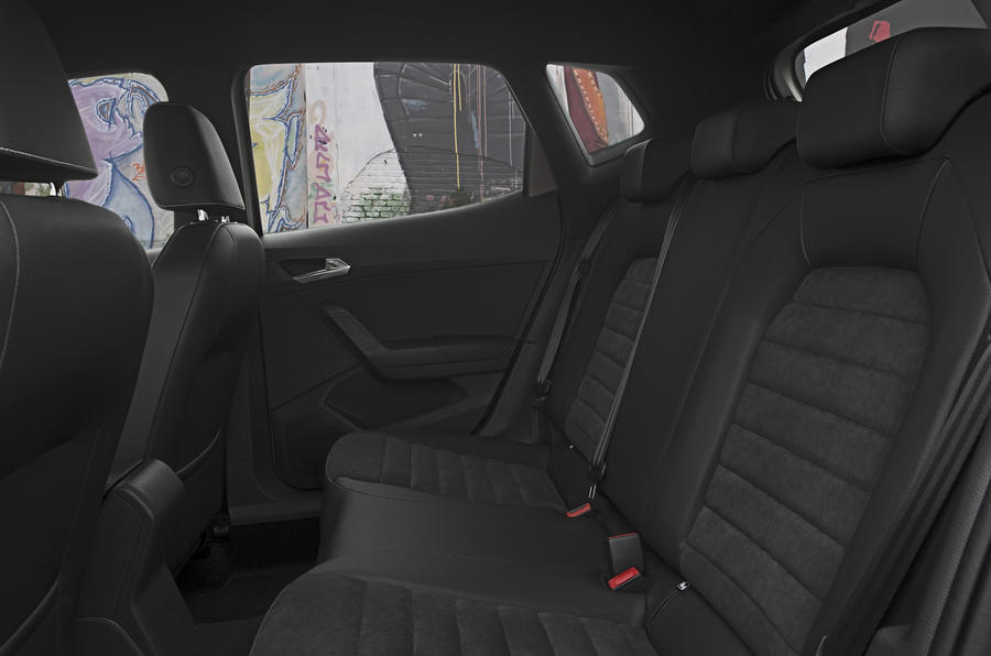 Seat Arona rear seats