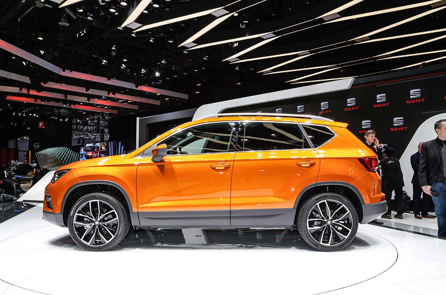 new seat ateca full pricing confirmed pictures details autocar. Black Bedroom Furniture Sets. Home Design Ideas