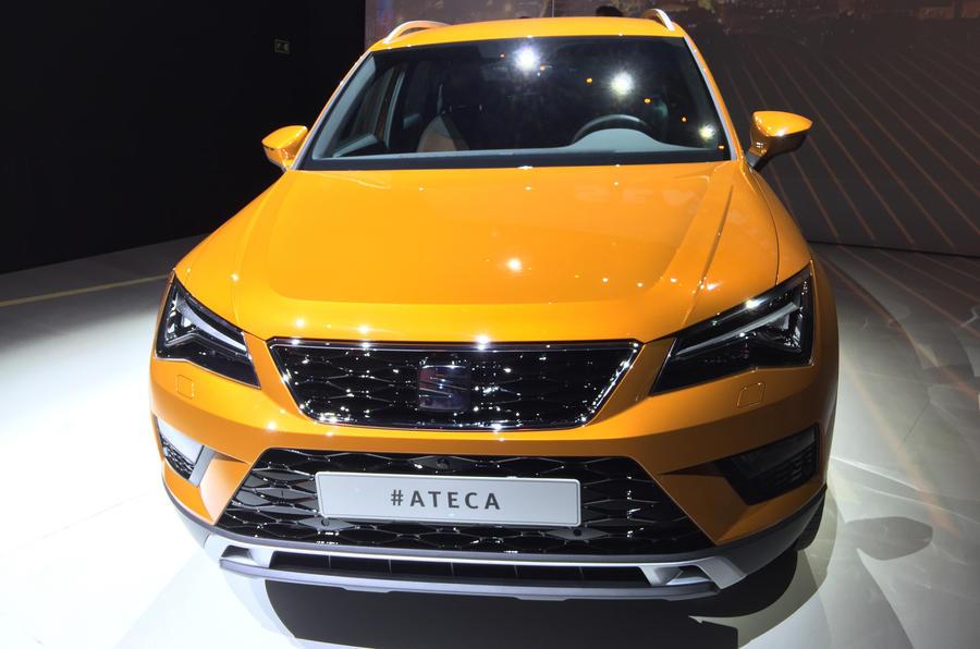 2016 Seat Ateca SUV nose