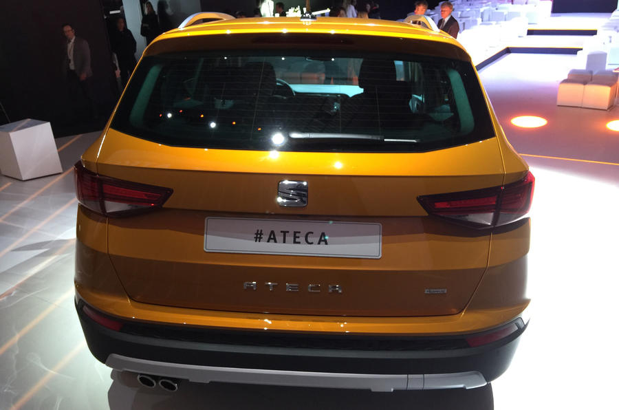 2016 Seat Ateca SUV rear view