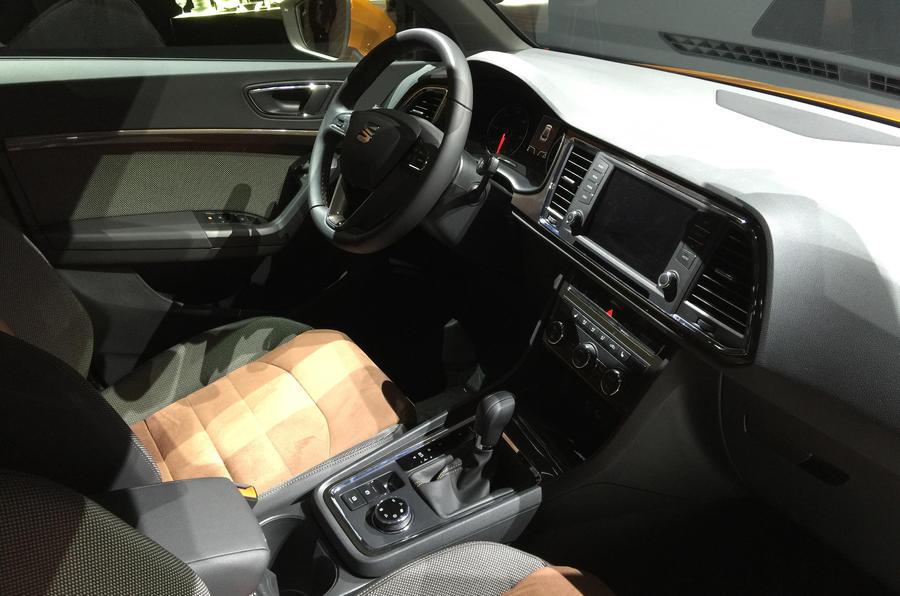 2016 Seat Ateca SUV interior