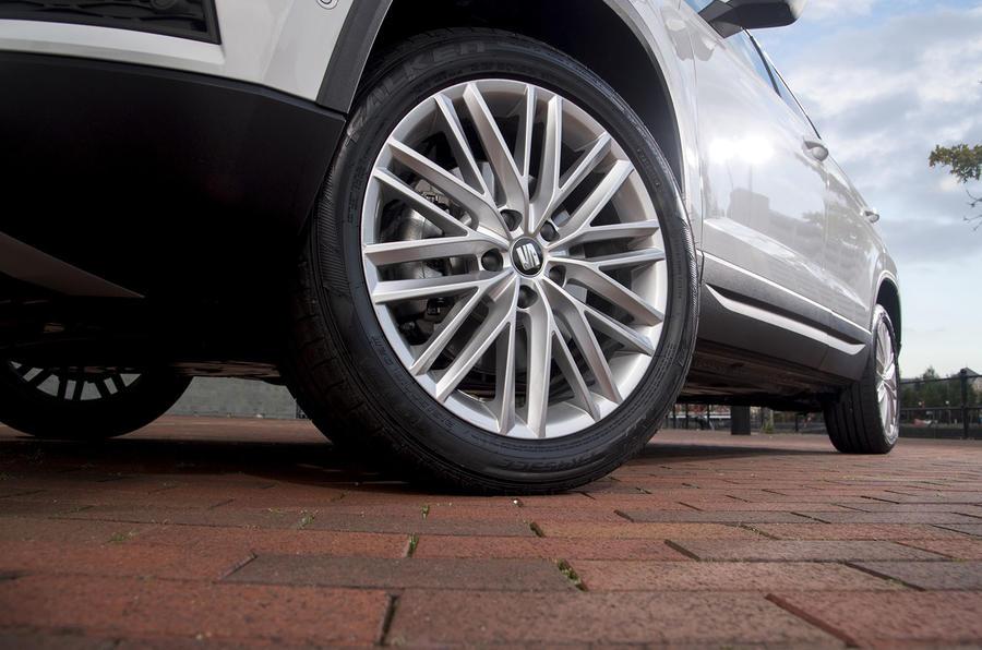 Seat Ateca alloy wheels