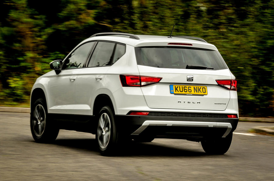 2016 seat ateca 1 0 tsi ecomotive se review review autocar. Black Bedroom Furniture Sets. Home Design Ideas
