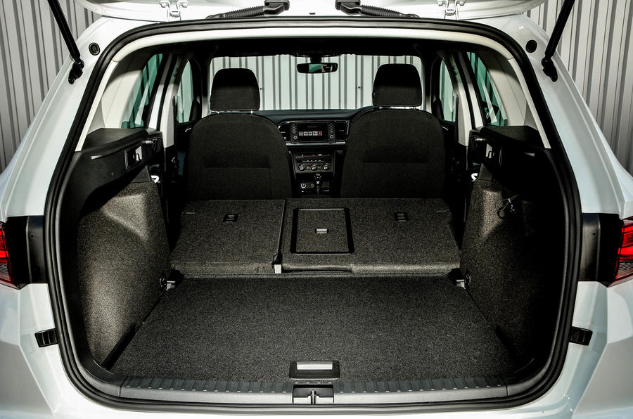 Seat Ateca extended boot space