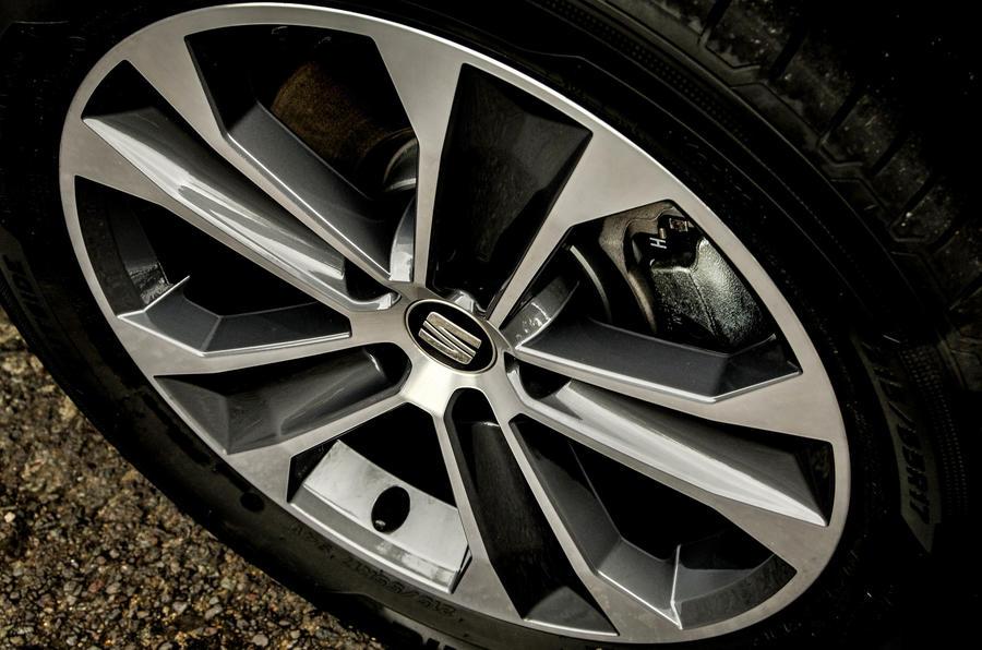 17in Seat Ateca alloy wheels