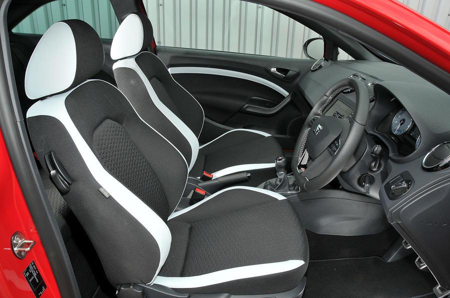 Seat Ibiza Cupra front seats