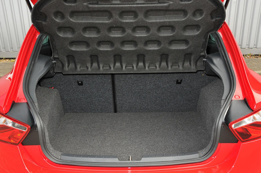 Seat Ibiza Cupra boot space