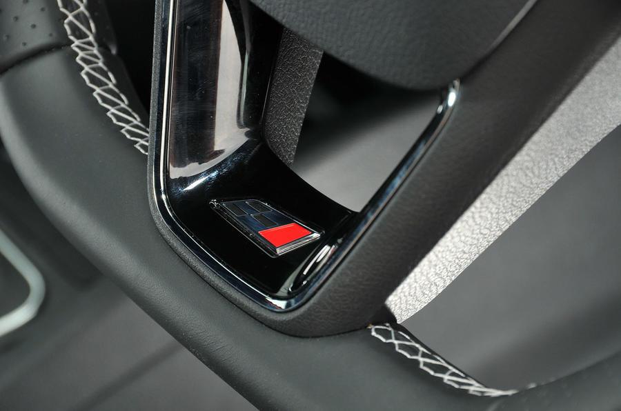 Seat Cupra interior badging