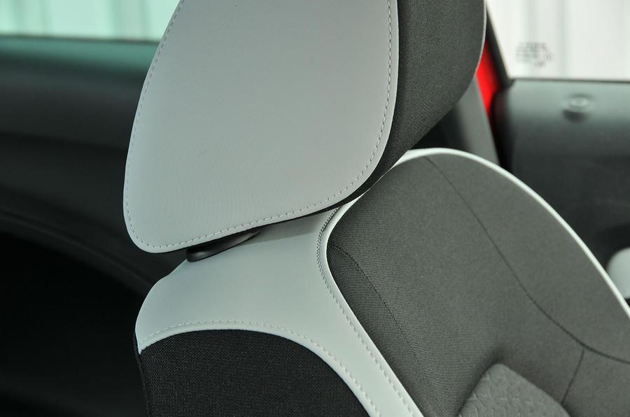Seat Ibiza Cupra two-tone upholstery