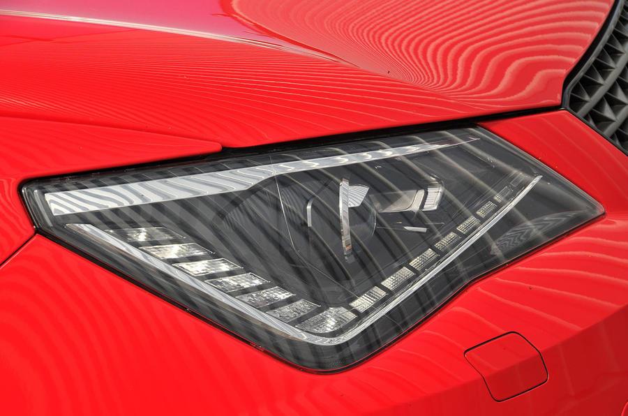 Seat Ibiza Cupra xenon headlights