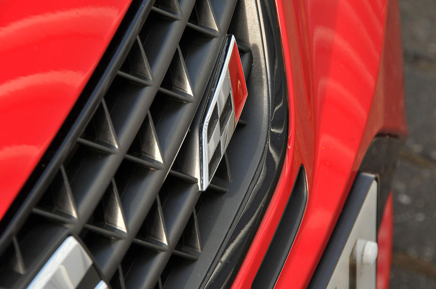 Seat Ibiza Cupra front grille