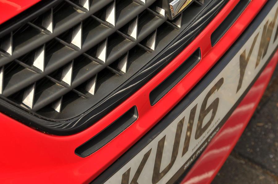 Seat Ibiza Cupra front air intake