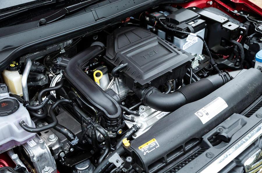 1.0-litre TSI Seat Ibiza engine