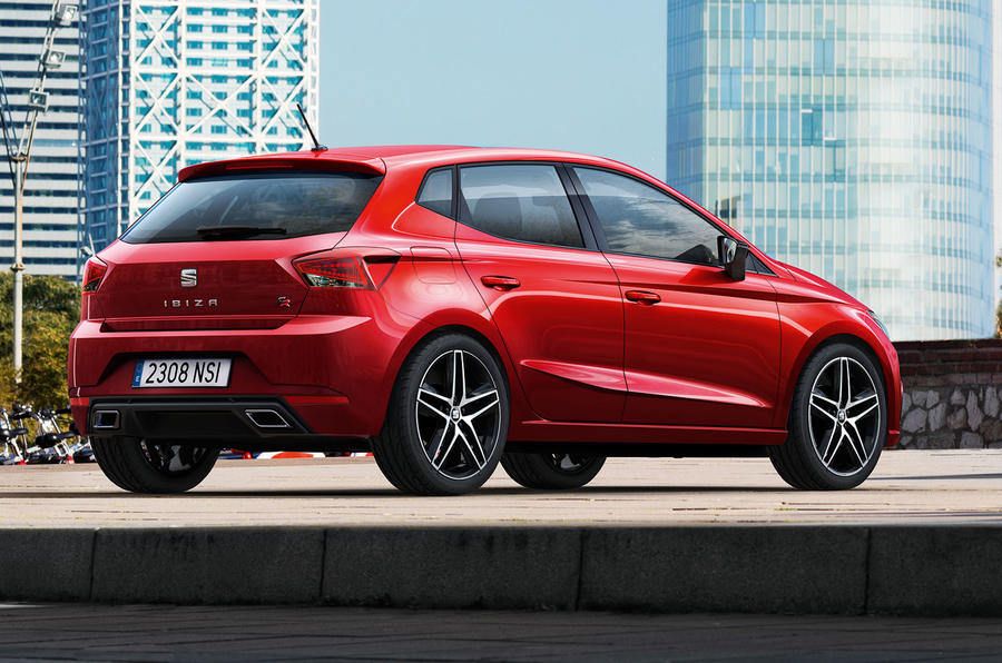 2017 Seat Ibiza revealed side and back