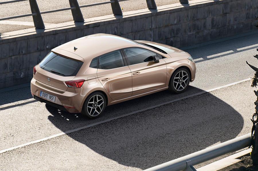 2017 Seat Ibiza revealed roof